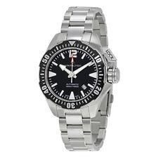 New Hamilton Khaki Navy Frogman Automatic Black Dial Men's Watch H77605135