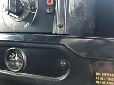 """LAND ROVER DEFENDER MILITARY WOLF CENTRE 2"""" CLOCK PANEL"""
