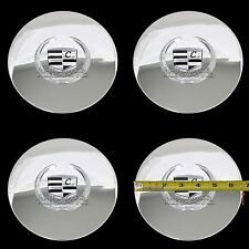 4 Eldorado Deville DTS Chrome Wheel Center Hub Caps 5 Lug Bolt Rim Cover Hubs LC