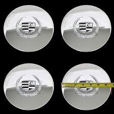 4 Eldorado Deville DTS Chrome Wheel Center Hub Caps 5 Lug Bolt Rim Cover Hubs LC