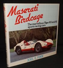 MASERATI BIRDCAGE THE MARVELLOUS TIPO 60 AND 61 SPORTS RACING CARS HARDBACK BOOK