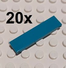 LEGO Bricks Dark Grey 1x4 Tiles. Part 2431 X 25