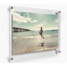 A2 Acrylic Photo Frame Poster Wall Mount Picture Holder Perspex Clear Display