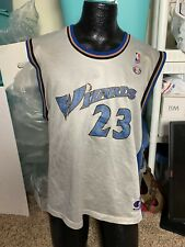 Vtg Michael Jordan Washington Wizards Champion Jersey Men's Sz L (44)
