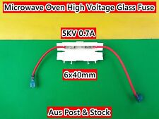 Microwave Oven Spare Parts High Voltage Glass Fuse Holder 5KV 0.7A 6x40mm (D150)