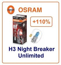 H3 Night Breaker Unlimited +110% OSRAM 64151NBU 55W 12V PK22s fog Germany