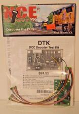 NCE #219 HO DTK DCC Decoder Test Kit NEW