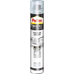 Pattex White Line PU Pistolenschaum 0,75L - PUS75 750 ml Montageschaum weiß