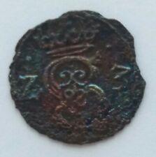 R4 !! denar Zygmunt III Waza 1623 Lobżenica nie szeląg