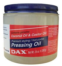Dax PRESSING OIL with Coconut Oil & Castor Oil 14oz (397g)