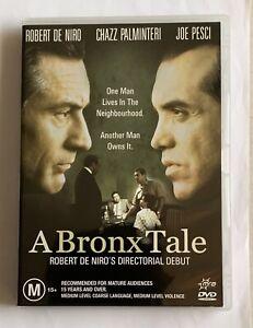 A Bronx Tale - DVD (Robert De Niro, Chazz Palminteri, Joe Pesci, (Region 4)