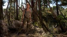 Alicia Vikander Lara Croft Tomb Raider Silk Poster/Wallpaper 24 X 13 inches