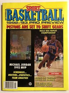 Peterson's Sport Basketball 1992-93 Pro Preview JORDAN, SHAQ, THE DREAM TEAM