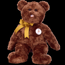 Ty Beanie Buddies Champion The Bear USA FIFA Retired FREE Heart Tag MWMT NEW