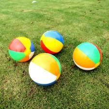 Zb _23CM Bunt Aufblasbarer Wasserball Schwimmbad Spiel Sommer Kinder Spielzeug