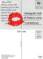 1996 CANTERBURY POSTCARD FAIR ADVERTISING LIMITED EDITION MINT POSTCARD