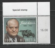GOTTLIEB DUTTWEILER, COMMERCIAL TRUCK ON SWITZERLAND 2013, MNH