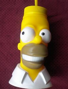 THE SIMPSONS WATER BOTTLE, 1 LITRE,USED,IN VERY GOOD CONDITION,UNIVERSAL STUDIOS
