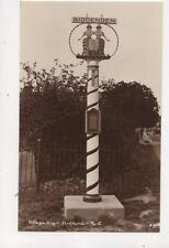 Village Sign Biddenden Kent Vintage RP Postcard HH Camburn 558b