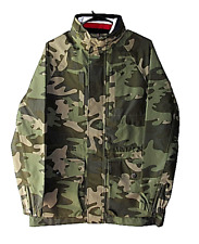 Tommy Hilfiger Mens Size S Canvas Camo Water Stop Cargo...
