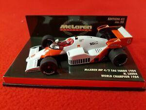MINICHAMPS 1:43 Scale - McLaren MP 4/2 : N. Lauda World Champion 1984