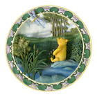 """CLASSIC WINNIE POOH 3D Wall Hanging Plate """"A Perfect Spot just for being Pooh"""""""