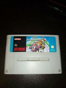 Super Mario kart snes super nintendo Version FAH
