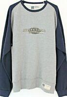 NEW Auburn Tigers Varsity Football Men's LG Vintage Cotton Crew Neck Sweatshirt