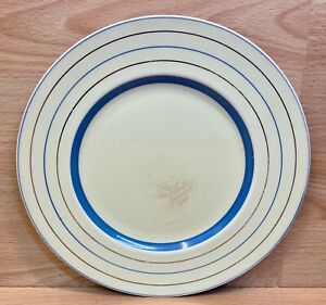 """Clarice Cliff Newport Pottery 9"""" Dinner Plate."""