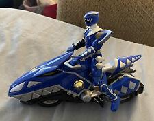 Power Rangers Dino Thunder Blue Raptor Cycle and Ranger