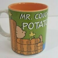 """Charlie Brown """"Mr. Couch Potato' Peanuts Fathers Day Coffee Mug by Gibson"""