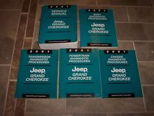 2001 Jeep Grand Cherokee Shop Service Repair Manual Set Laredo Limited