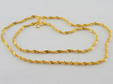 UK Indian Traditional Jewelry Necklace Bollywood Gold Plated New Chain Mala C21