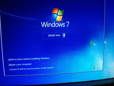 Windows 7 32 & 64 bit Reinstall Install DVD All Version SP1 Home Professional