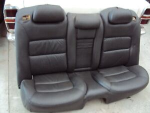 Holden statesman WL Caprice Leather rear seat, Grey  pick up 3029