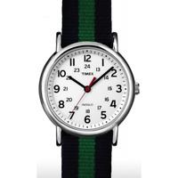 Orologio TIMEX ref. ABT746 uomo solo tempo con cinturino in tessuto blu e verde