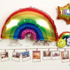 Giant Rainbow Foil Balloon Baby Shower Kids Birthday Party Decor Helium Unicorn
