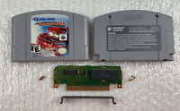 Polaris Snocross (Nintendo 64, 2000) N64 Cart Only - Authentic Tested & Working