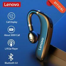 Lenovo Bluetooth Headset Wireless Earphone Ear Hook Mic Noise Cancelling Earbuds