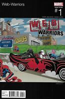Web Warriors Comic Issue 1 Limited Hip-Hop Variant Modern Age First Print 2016