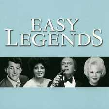 EASY LEGENDS - JIM REEVES DEAN MARTIN PERRY COMO FRANK SINATRA - 2 CDS - NEW!!
