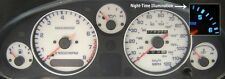 Mazda Mx5 Mk1, White dials,180mph, 140mph, 120mph (Blue Illumination)