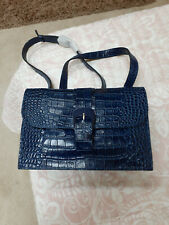 New Patricia Nash Tauriana Crosbdy Navy