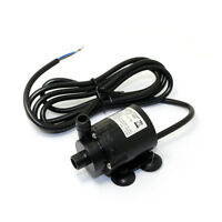 JT-160-12-CA Mini Brushless Water Pump Amphibious 6-12V Submersible Pump W/Cable