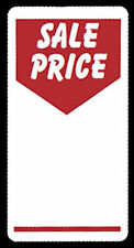 100 x Sale Price Self Adhesive Peelable|Removable Price Tags Labels Stickers