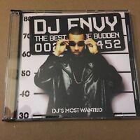 DJ Envy The Best of Joe Budden RARE Jersey Rap Mixtape MIX CD