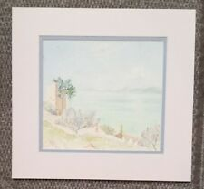 Antique/Vintage Drawings Matted, Seascape