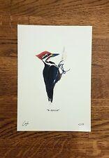 Woodpecker - Wildlife Portrait - A5 Fine Art Print - Limited Edition of 25