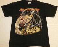 "Rare Vintage 1994 *Single Stitched* Aerosmith ""Get a Grip"" Concert T-Shirt Large"