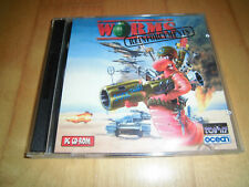 Worms + Worms Reinforcements - 2 PC CD-ROM (1995/1996)